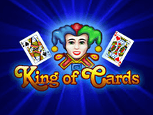 Автомат King of Cards в Вулкане 24