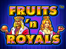 Автомат Fruits and Royals в Вулкан 24